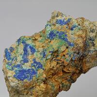 Linarite Malachite & Cerussite
