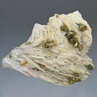 Chalcopyrite Baryte & Dolomite