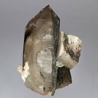 Orthoclase & Smoky Quartz