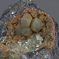 Sphärosiderite & Pyrite