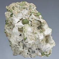 Andradite & Chrysotile