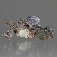 Silver & Fluorite