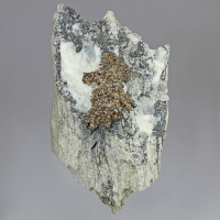 Native Silver Acanthite & Quartz