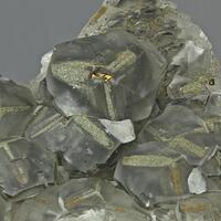 Calcite & Pyrite