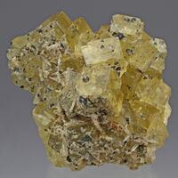 Fluorite Baryte Sphalerite & Chalcopyrite