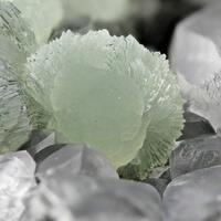 Prehnite Calcite & Pumpellyite