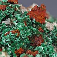 Malachite & Chalcopyrite