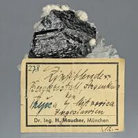 Sphalerite Siderite & Quartz