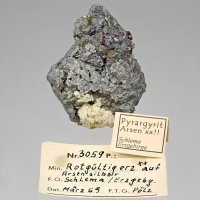 Pyrargyrite & Arsenic
