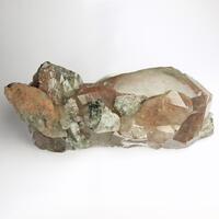 Quartz Titanite Baryte & Calcite