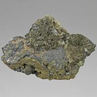 Millerite Sphalerite & Chalcopyrite