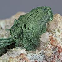 Malachite Psm Baryte & Calcite