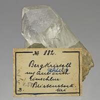 Rock Crystal & Byssolite