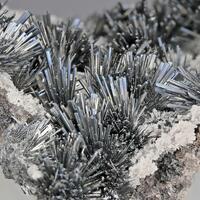 Fülöppite Stibnite & Calcite