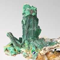 Malachite Psm Azurite & Quartz