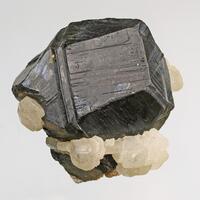 Sphalerite Var Marmatite & Calcite