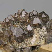 Albite & Smoky Quartz