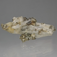 Quartz Pyrite & Calcite