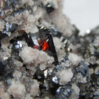 Bournonite Jamesonite Sphalerite Quartz & Galena