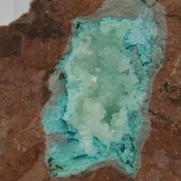 Chrysocolla & Calcite