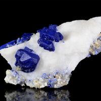 Lazurite With Calcite