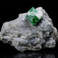 Emerald With Talc