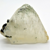 Calcite With Diopside Inclusions