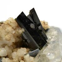Actinolite With Quartz