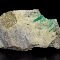 Emerald With Pyrite