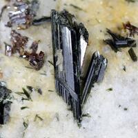 Actinolite With Rutile
