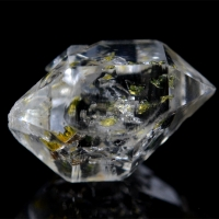 Quartz With Hydrocarbon Inclusions