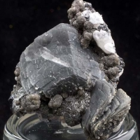 Jamesonite Calcite Sphalerite & Quartz