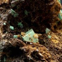 Zeunerite & Native Bismuth