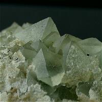 Fluorite & Stilbite