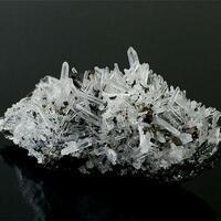 Quartz Pyrite & Chalcopyrite