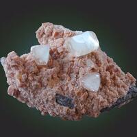Calcite With Chabazite & Stellerite