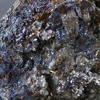 Pyrite With Chalcopyrite & Arsenopyrite