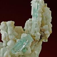 Aquamarine Quartz Feldspar & Muscovite