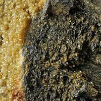 Berthierite Siderite & Calcite