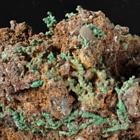 Malachite & Copper