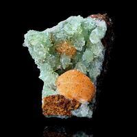 Anapaite & Fluorite