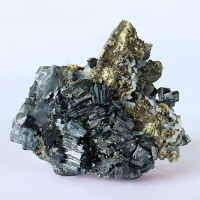 Bournonite Galena Pyrite & Quartz