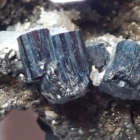 Bournonite & Pyrite