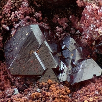 Cuprite Native Copper & Goethite