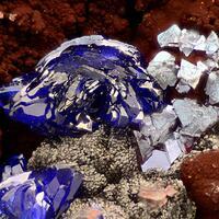 Azurite Cuprite & Delafossite