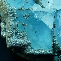 Fluorite Pyrite & Quartz