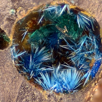 Connellite & Brochantite