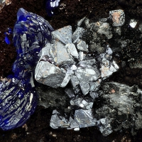 Delafossite Cuprite & Azurite