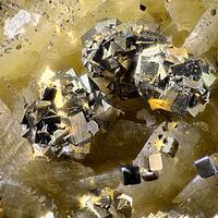Pyrite Calcite & Siderite