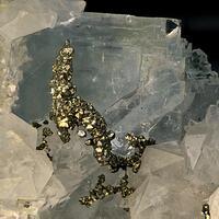 Fluorite Quartz & Pyrite